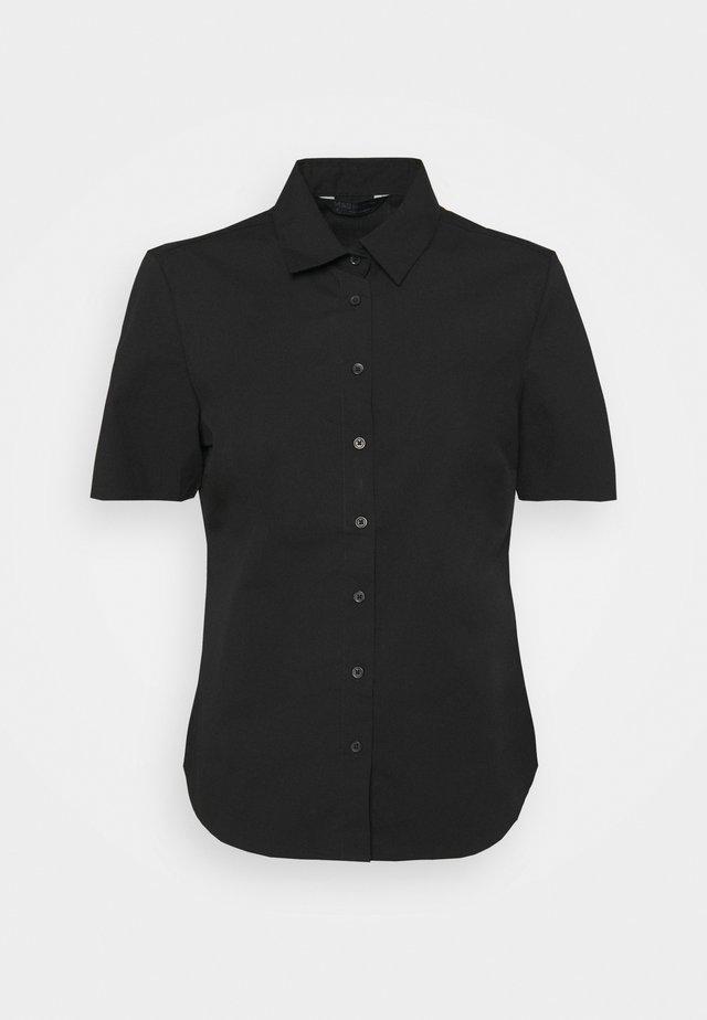 FITTED SHIRT - Overhemdblouse - black