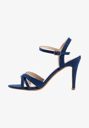 CIARA - Sandały na obcasie - dark blue