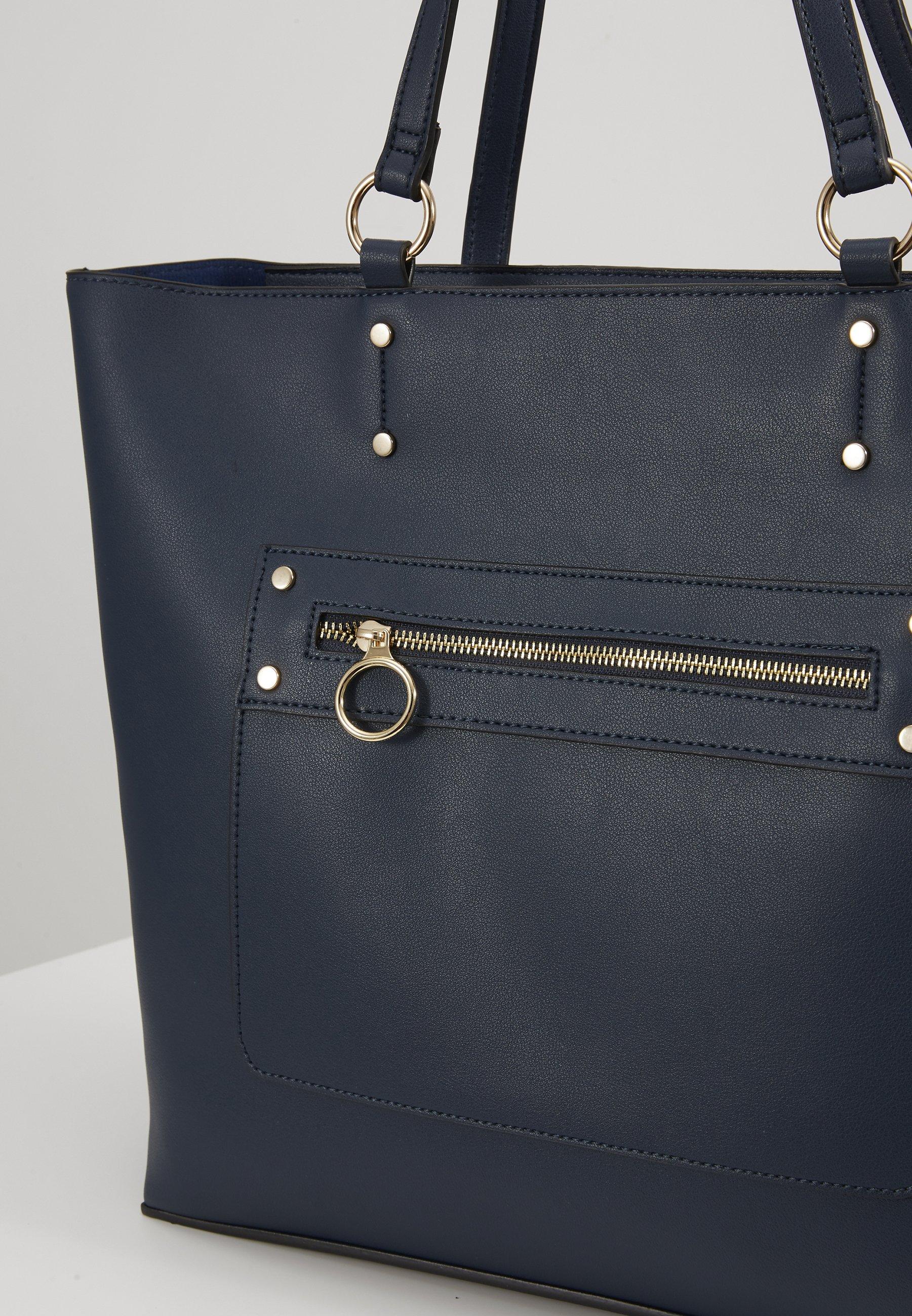 New Look TORI UNLINED TOTE - Shoppingveske - navy/blå ARxhZ0IrnFEPUTd
