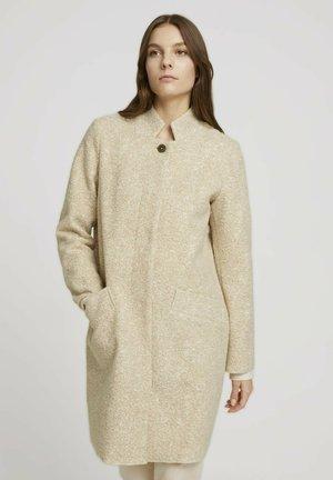 Short coat - powder beige melange