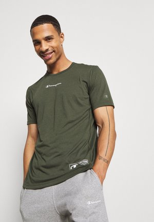LEGACY TRAINING CREWNECK - Camiseta estampada - khaki
