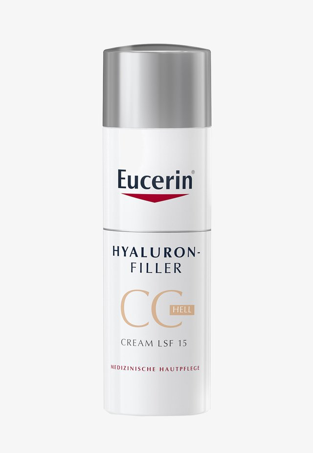 GETÖNTE TAGESCREME HYALURON-FILLER CC CREAM HELL, ANTI AGE CREME - CC cream - -