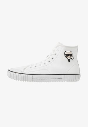 KAMPUS II KARL 3D IKON - Sneakersy wysokie - white