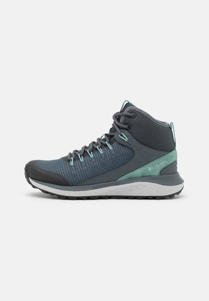 TRAILSTORM MID WP - Hiking shoes - graphite/dusty green