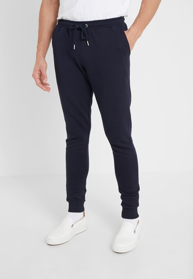Tracksuit bottoms - navy/lavender