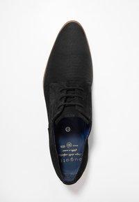 Bugatti - LUCIUS - Stringate eleganti - black - 1