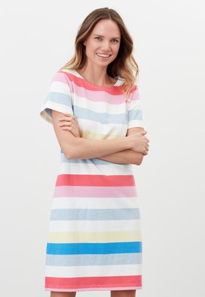 RIVIERA - Jersey dress - bunte streifen
