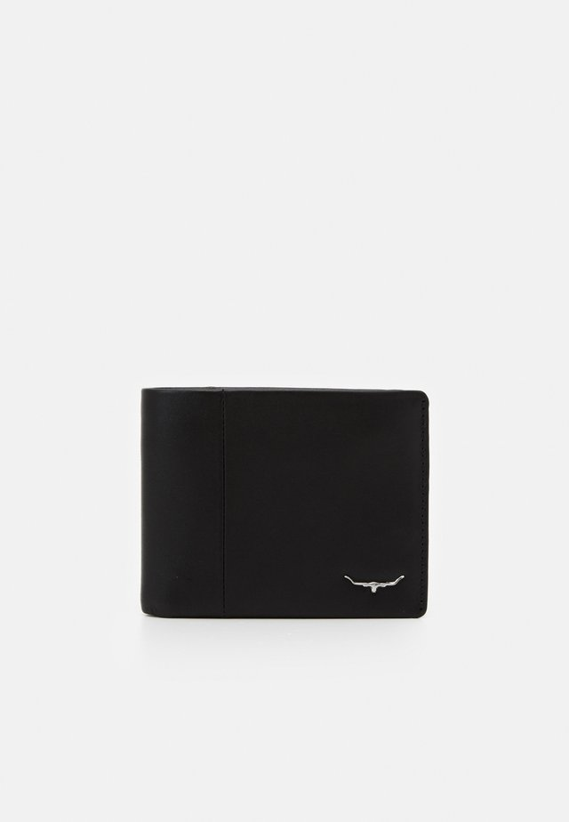 WALLET WITH COIN POCKET - Peněženka - black