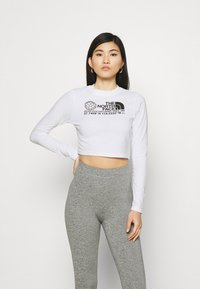 The North Face - COORDINATES TEE - Topper langermet - white - 0
