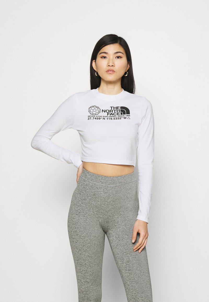 The North Face - COORDINATES TEE - Topper langermet - white