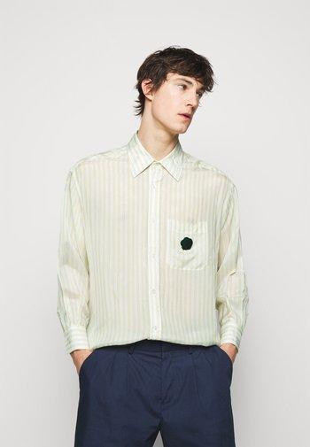 STRIPE SHIRT - Shirt - yellow