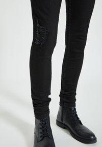 PULL&BEAR - Jeans Skinny Fit - mottled black - 5
