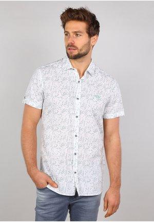 Overhemd - white / green