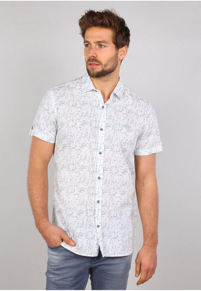 Camicia - white / green