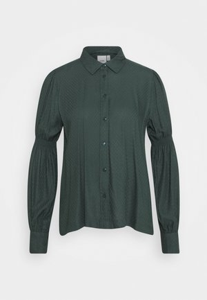 EBBALISE  - Button-down blouse - darkest spruce