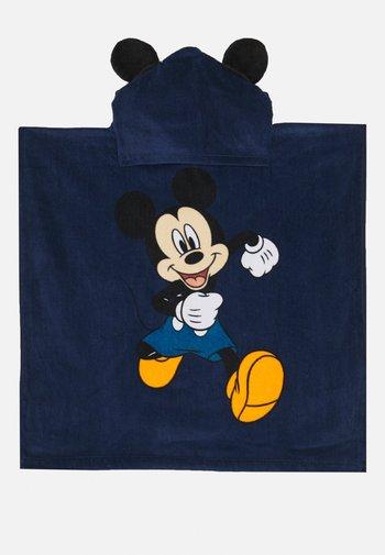 BOY PONCHO MICKEY - Bath towel - insignia blu