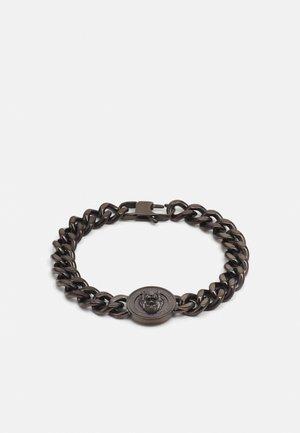 LION COIN CHAIN BRACELET UNISEX - Bracelet - gunmetal