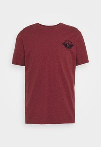 LOGO TEE - Print T-shirt - warm cinnabar/chestnut red