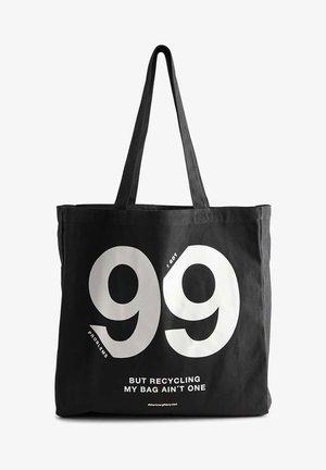 ISIDORAMBG - Tote bag - black/white
