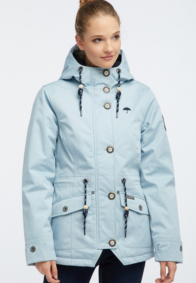 Talvitakki - light blue