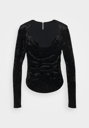 PERFECT DATE - Long sleeved top - black