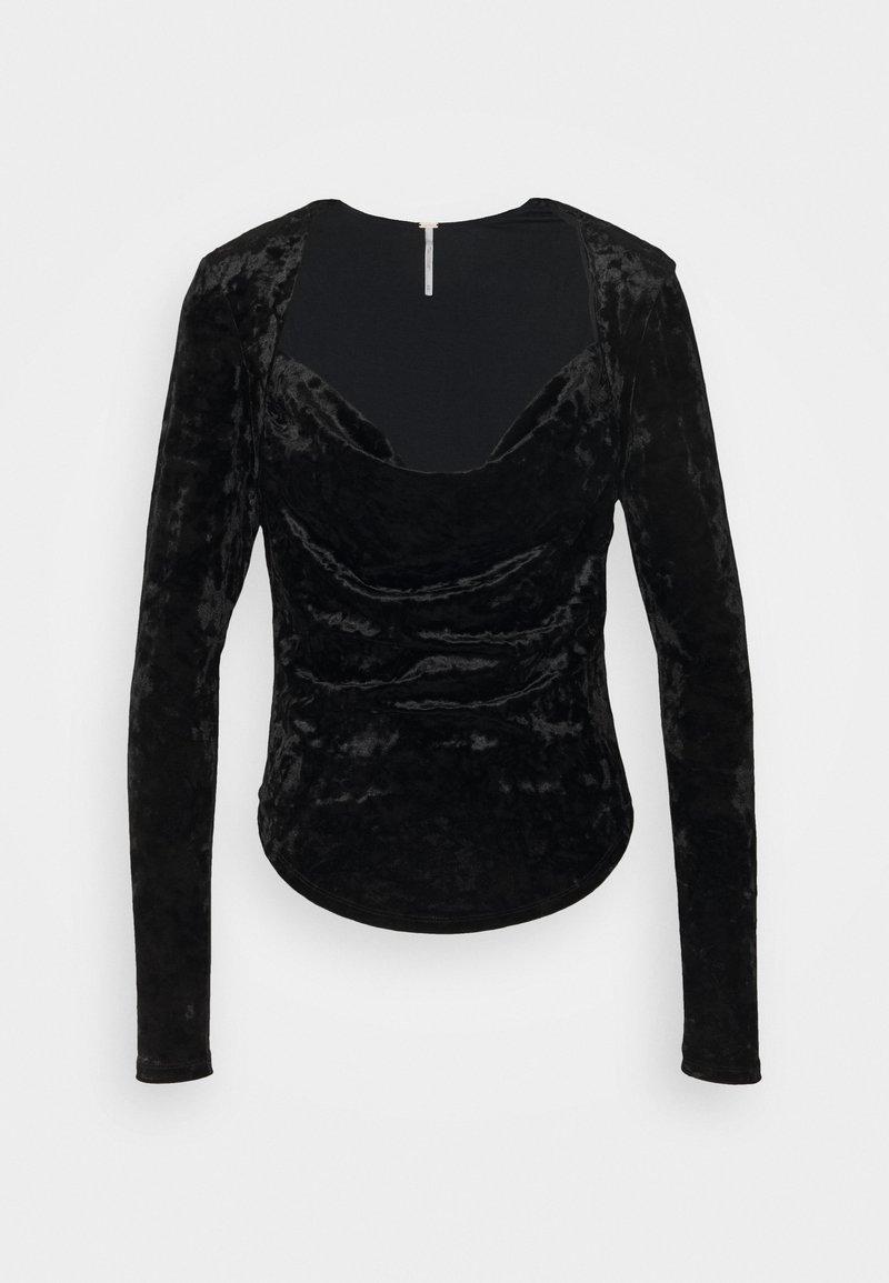Free People - PERFECT DATE - Long sleeved top - black