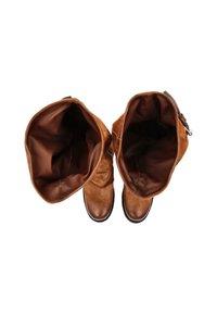 A.S.98 - Cowboy/Biker boots - calvados - 3