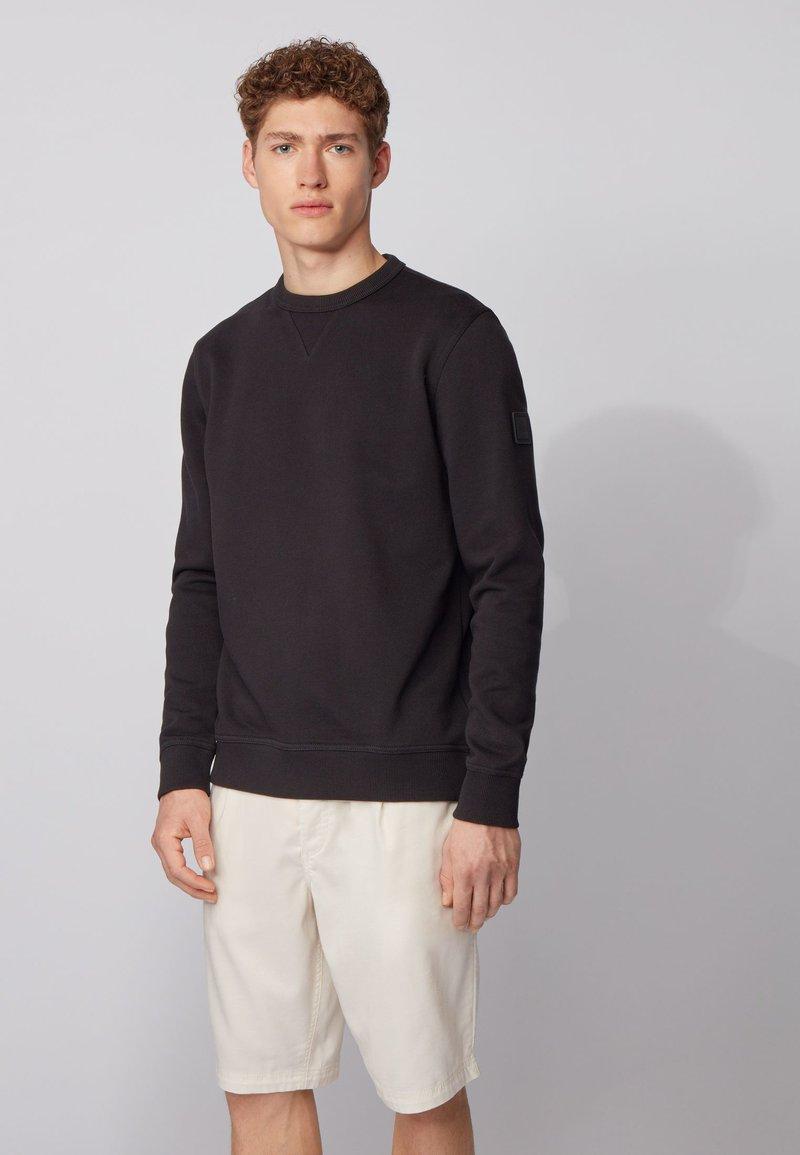 BOSS - WALKUP - Sweatshirt - black