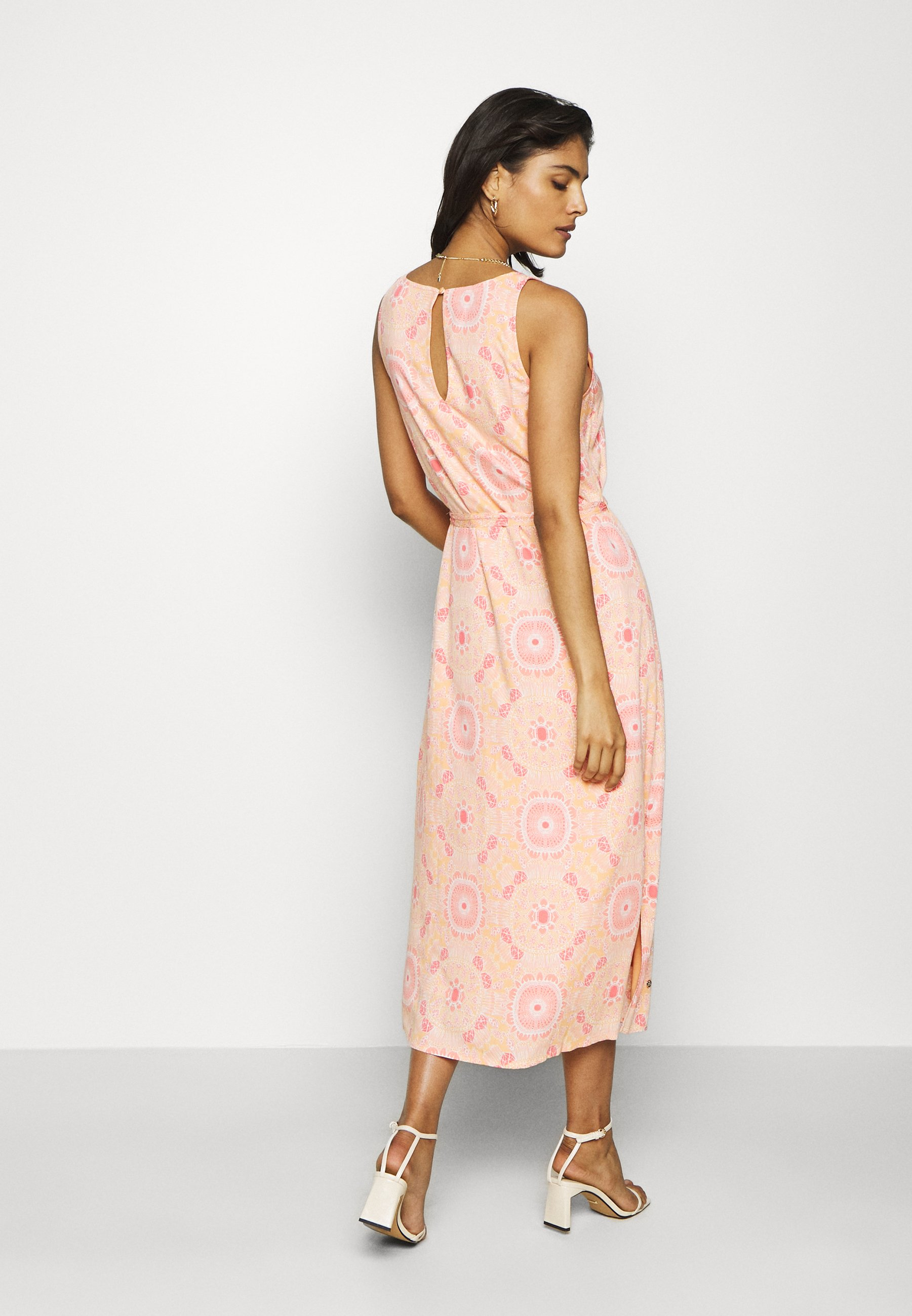 Mos Mosh MERRIN VISSA DRESS Maxikleid pink