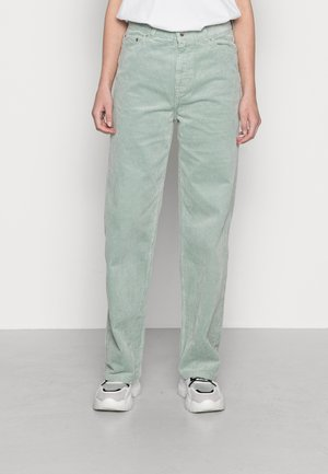 LASHES TROUSERS - Trousers - sage green
