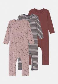Name it - NBFRONLA 3 PACK - Pyjamas - dark sapphire/wild ginger - 0
