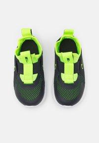 Nike Performance - FLEX PLUS UNISEX - Neutral running shoes - dark smoke grey/volt/white - 3
