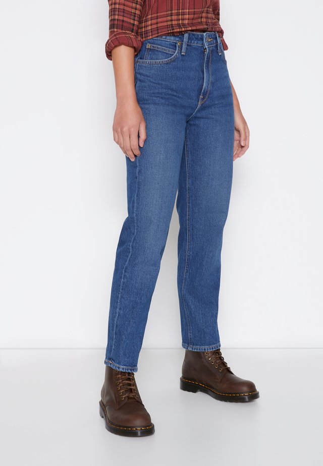 CAROL - Jeans straight leg - dark buxton