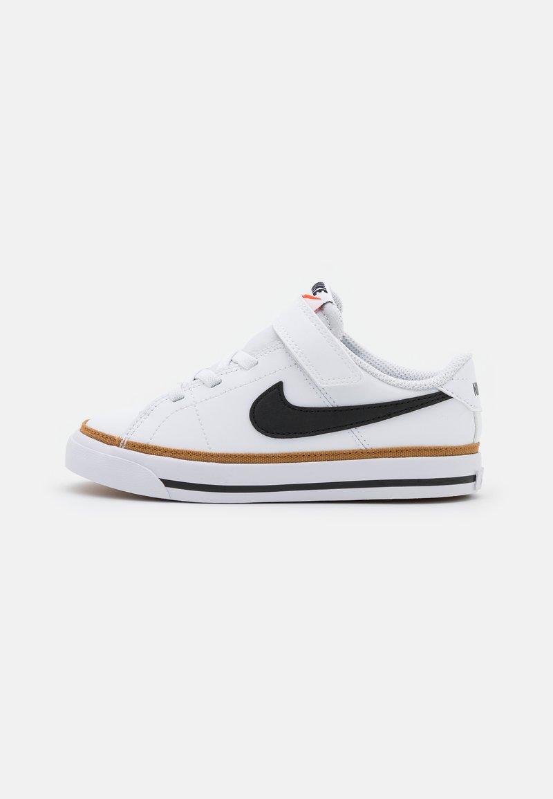 Nike Sportswear - COURT LEGACY  - Zapatillas - white/black/desert ochre/light brown