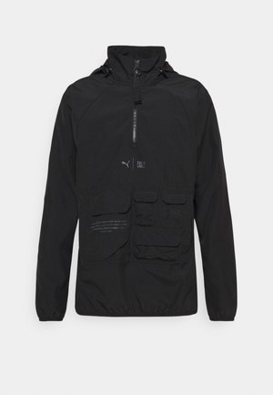 TRAIN FIRST MILE UTILITY JACKET - Laufjacke - puma black