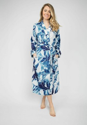 MORGENMANTEL ELLIE - Dressing gown - blue floral print