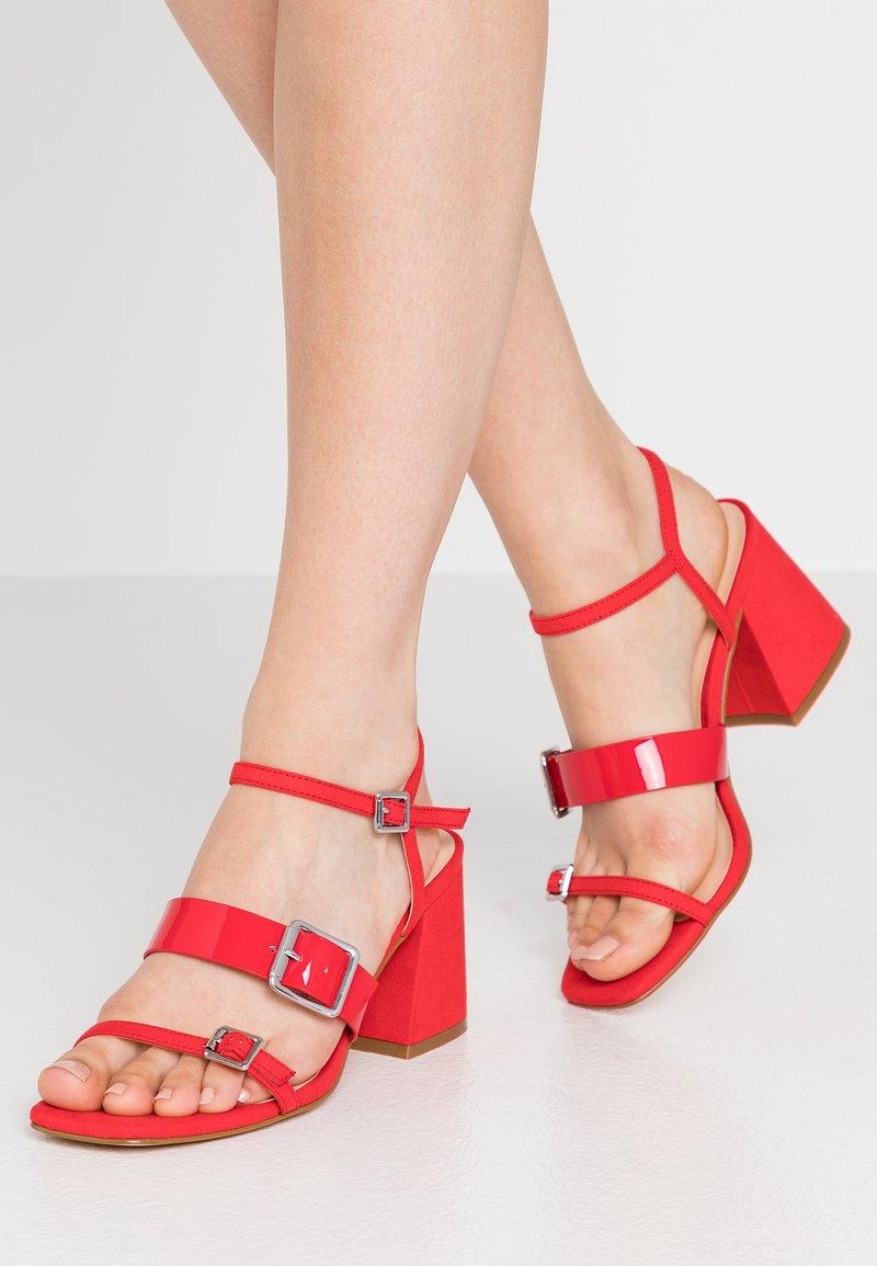 Even&Odd - Sandalias - red