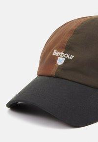 Barbour - ALDERTON SPORTS UNISEX - Cap - bark/archive/sand - 4