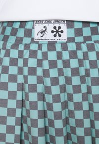 NEW girl ORDER - CHECKERBOARD SKIRT - Plisséskjørt - black/green - 5