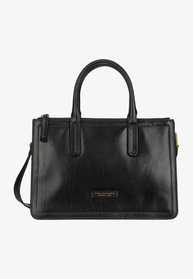 Handbag - nero/oro