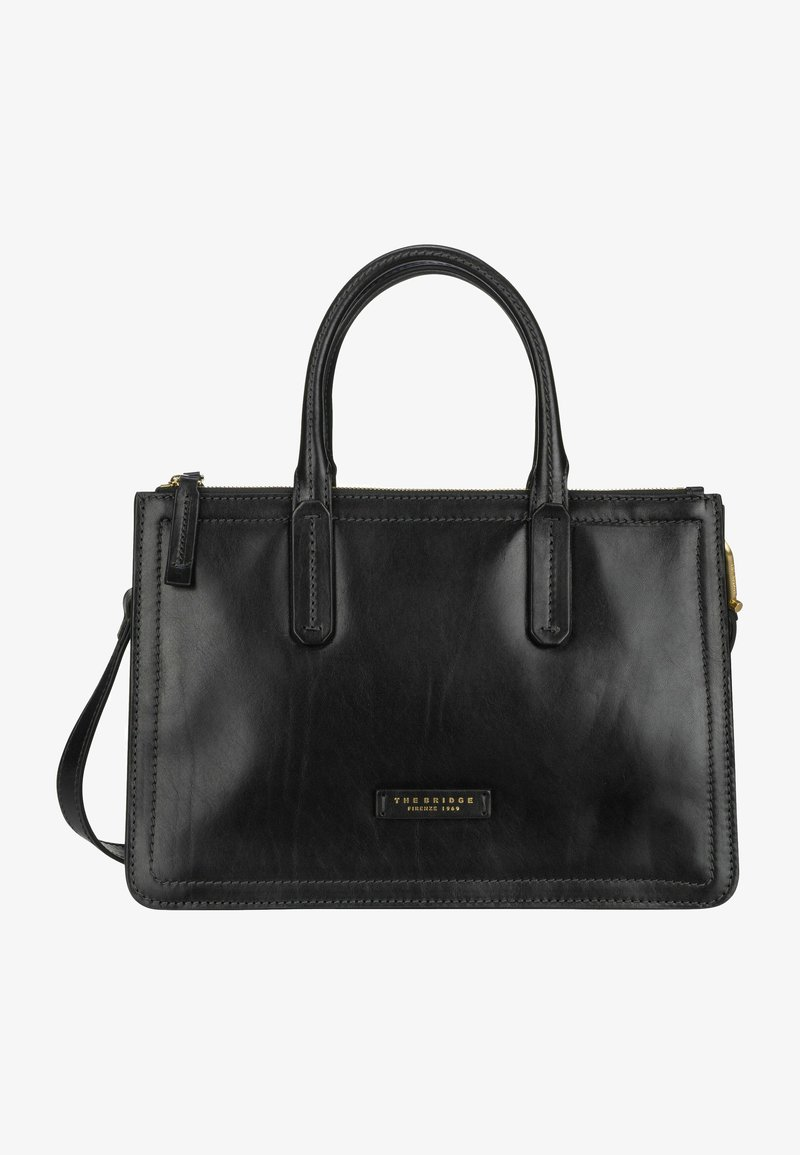 The Bridge - Handbag - nero/oro