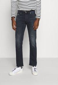 Replay - GROVER - Straight leg jeans - dark blue - 0