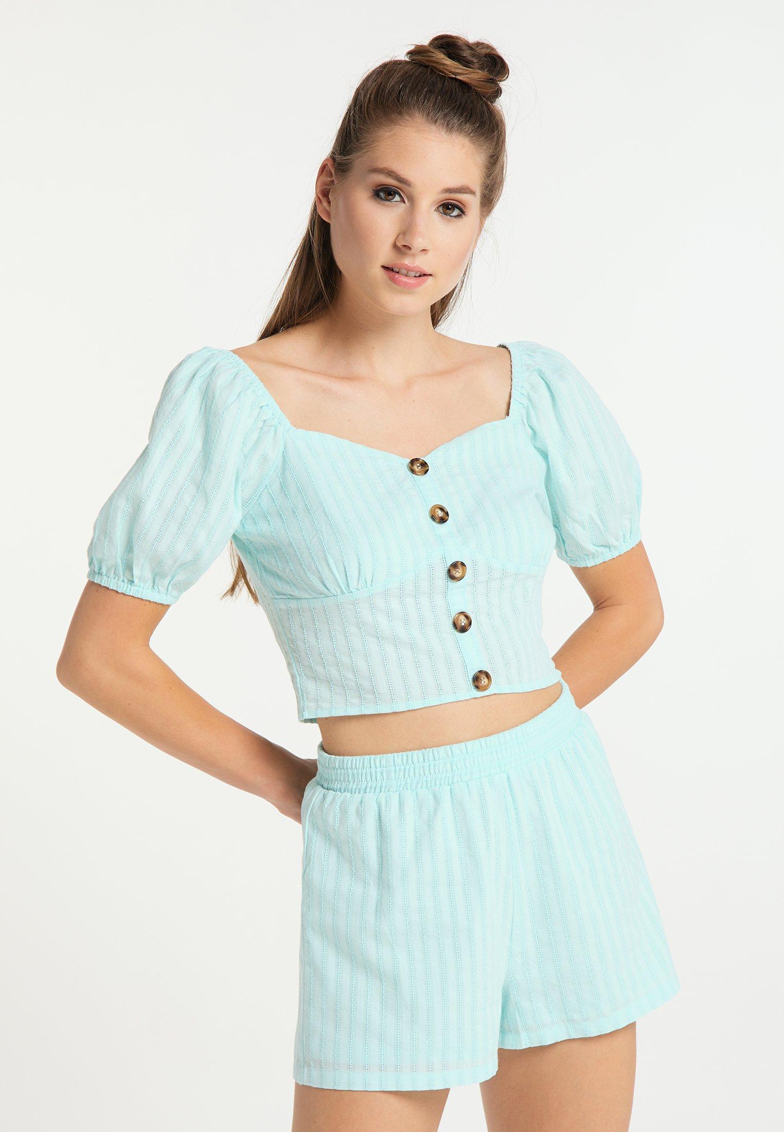 Discount Women's Clothing myMo Blouse hellblau WxTIWITzl