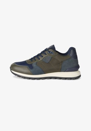 Sneakers laag - military green
