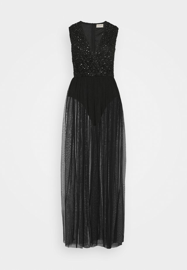 LILLIAN MAXI - Iltapuku - black