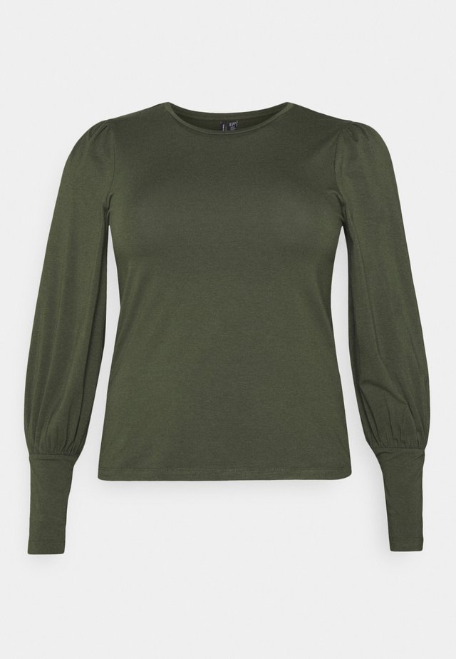 VMPANDA MUTTON - Long sleeved top - khaki