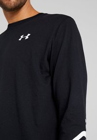 Under Armour - WORDMARK SLEEVE - Funktionströja - black/white - 6