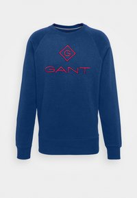 COLOR LOCK UP CNECK - Sweatshirt - crisp blue