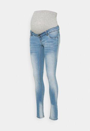MLBIRDIE NEW HIGH BACK - Jeans Skinny Fit - light blue denim