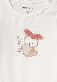 Name it - NBFNAJA BABY SET  - Legging - snow white/blush - 3